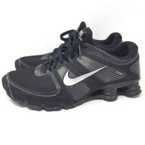Nike Shox Men's Black Sz 10 Turbo 11 407266-005